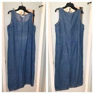 Jessica Howard Long Denim Maxi Dress, 16
